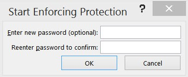 Word document start protection